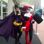 Batwoman and Harley Quinn cosplay