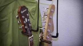Guitar hanger, inexpensive but very useful!