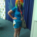 RainbowDash cosplay!