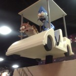 Regular Show booth.