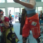 Stilts Chell Portal cosplay!