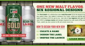 Mountain Dew is launching a Malt flavor