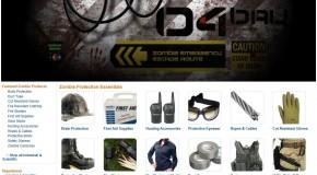 Amazon has a Zombie Preparedness section now