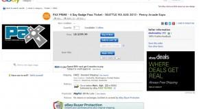 PAX Prime 2013 scalp ticket found… $350 (UPDATING)
