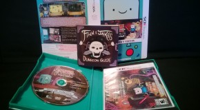 Adventure Time: Explore the Dungeon Collector's Edition unboxing