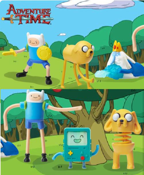 Tastywhale Adventure Time Toys Coming To Mcdonald S