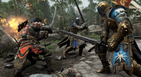 "Quick info: ""For Honor"" let's you play as a knight, a samurai, a viking"