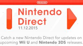 Nintendo Direct November 2016